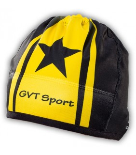 bonnet cycliste thermique gvt yellows stars
