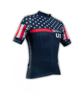 Maillot cycliste GVT Usa Bike