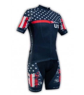 Cycling kit GVT USA Bike