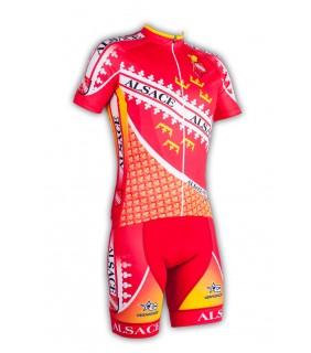 Ensemble cycliste GVT Alsace Bike + Paire de chaussette Cycliste