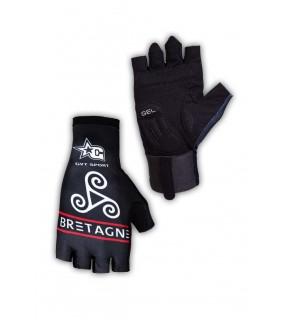 Paire de gants cycliste proline GVT Bretagne