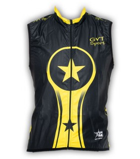 gilet coupe vent cyclime gvt yellows stars