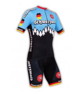 Kurzarmtrikots und Fahrradhosen Schwarzwald Radsport