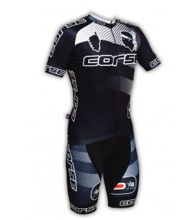 Ensemble cycliste GVT Corse Cyclisme + Chaussette Cycliste