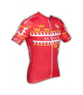 Maillot cyclisme GVT Alsace Vélo