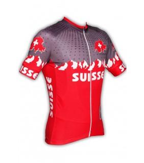 Maillot cycliste été GVT Suisse Cyclisme