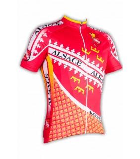 Maillot cycliste GVT Alsace Bike