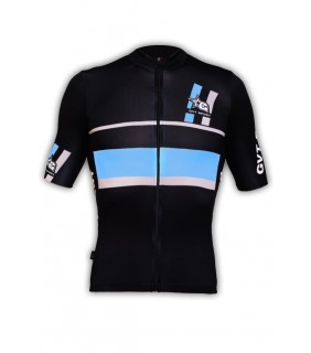 Maillot cycliste pro GVT Sport Bleu