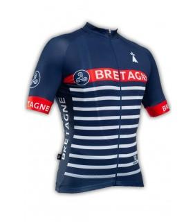 Maillot cycliste GVT Bretagne Marine