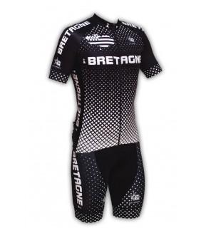 Ensemble cycliste GVT Bretagne Team + Chaussette Cycliste