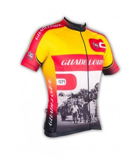 Maillot cycliste GVT Guadeloupe 971