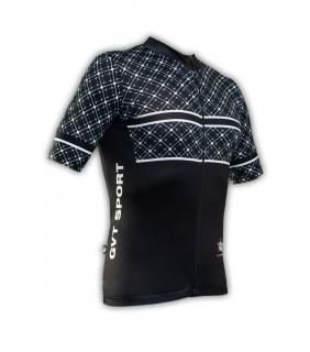 Maillot cycliste GVT Pro Speed noir