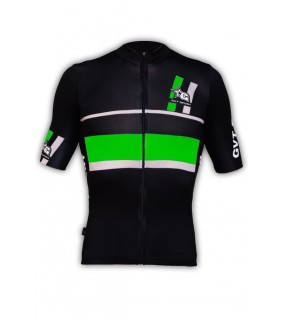 Maillot cycliste GVT vert fluo