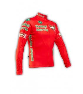 Maillot cycliste manche-longue GVT Euskal Herria