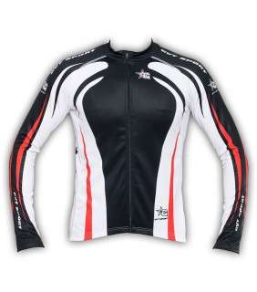 Maillot Cyclisme Manche Longue Red Star's Bike