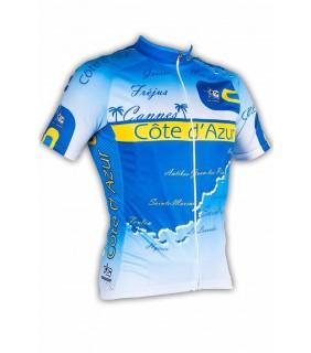Maillot cycliste original GVT Côte d'Azur
