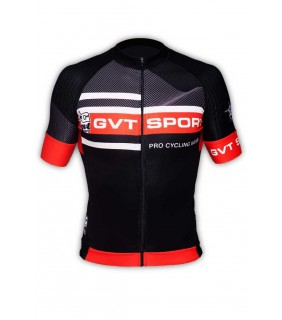 Maillot cycliste pro team GVT Speed noir