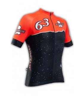 Maillot cycliste professionnel GVT Auvergne Cyclisme