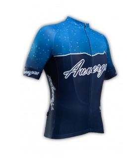 Maillot cycliste professionnel GVT Auvergne Vélo