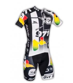 Ensemble cycliste GVT Gwada Vélo + Paire de chaussette Cycliste
