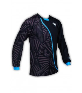 Maillot manche longue Enduro GVT Blue Racing
