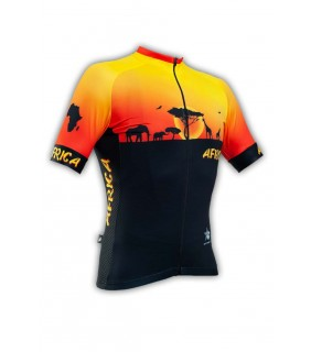 Maillot cycliste GVT Africa Bike
