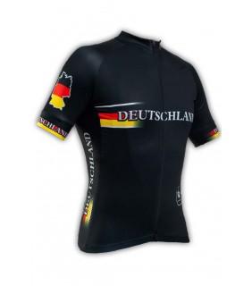 Maillot vélo GVT Deutschland Team