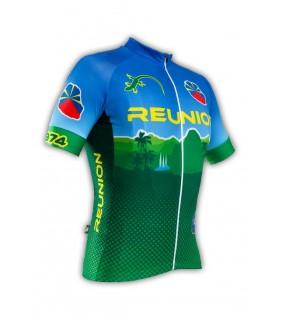 Maillot vélo GVT Reunion Cyclisme 974