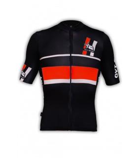 Maillot vélo pro GVT Sport rouge