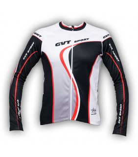 maillot velo route chauffant gvt bike performance