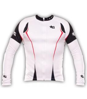 maillot cycliste manche longue bike aventure