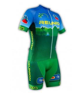 Tenue cycliste GVT Reunion Cyclisme 974 + Chaussettes Cycliste
