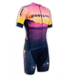 Tenue cycliste GVT Provence Vélo + Paire de gants et chaussettes Cycliste