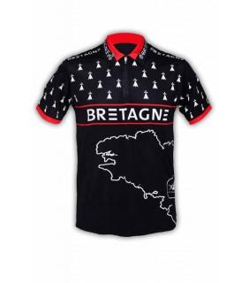 Polo-Shirt GVT Bretagne Pays