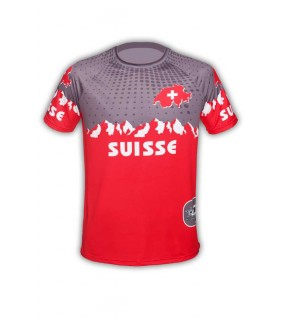 Raglan shirt GVT Flag Suisse