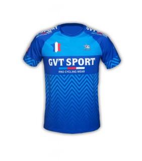 Tee-Shirt GVT Sport Bleu