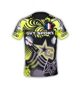 Tee-Shirt sport GVT Fun fluo