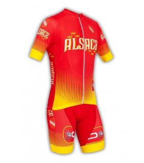 Tenue cyclisme GVT Région Alsace