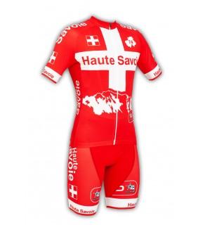 Tenue cycliste GVT Haute-Savoie Vélo + Paire de gants et chaussettes cycliste