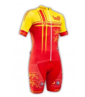 Tenue cycliste GVT Normandie Cyclisme + Paire de gants et chaussettes Cycliste