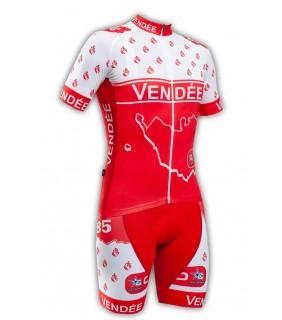 Tenue cycliste GVT Vendée Vélo + Paire de gants et chaussettes Cycliste