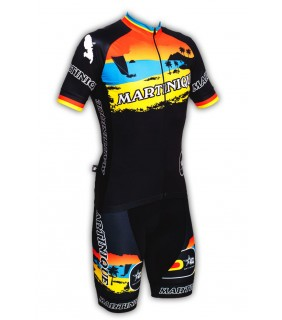 Tenue cycliste originale Le Diamant Martinique