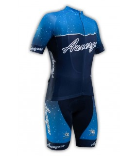 Tenue cycliste GVT Auvergne Vélo + Paire de gants et chaussettes Cycliste