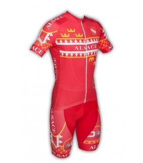 Ensemble cycliste GVT Alsace Vélo + Chaussettes Cycliste