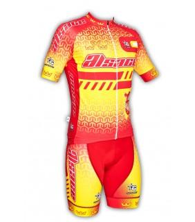 Ensemble cycliste GVT Alsace Cyclisme + Chaussette Cycliste