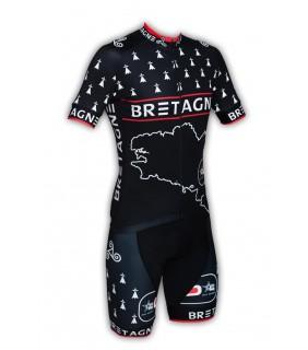 Ensemble cycliste GVT Bretagne Pays + Paire de gants et chaussettes Cycliste