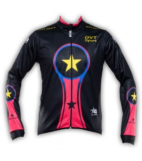 Veste Cycliste Thermique Windstop GVT Bike Colors