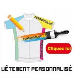 Vêtement cycliste personnalisé